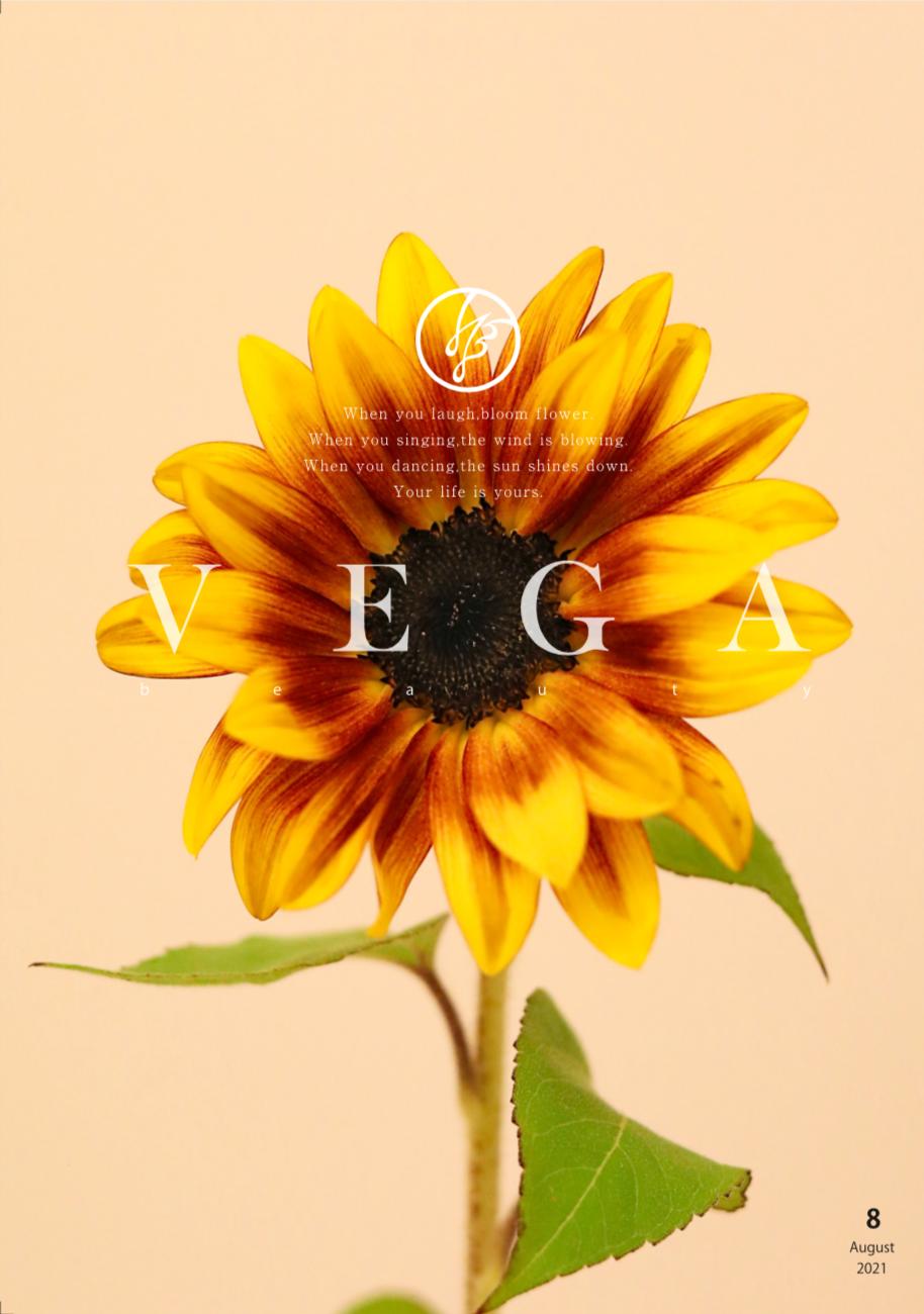 VEGA Beauty 8月号